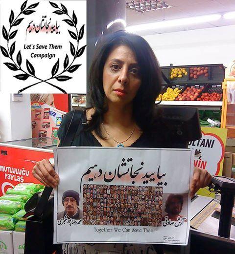 فرشته در کمپین یاری رسانی به زندانیان سیاسی