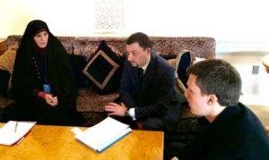 دیدار شهیندخت مولاوردی با وزیر کار و امور اجتماعی روسیه در حاشیه اجلاس